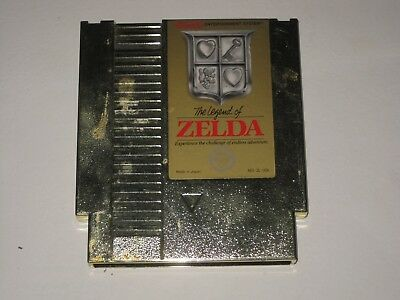 The Legend of Zelda  - Gold Cartridge (Nintendo Entertainment System) Pre-owned