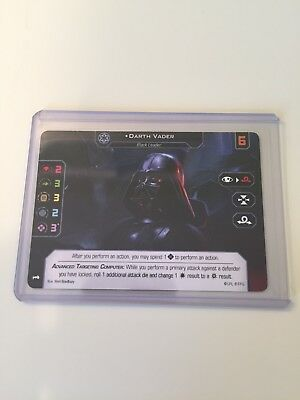 Gen Con 2018 Star Wars X-Wing Darth Vader Dual Sided 1.0 and 2.0 FFG Promo