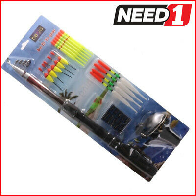 Extendable Fishing Rod Reel & Accessory Kit.
