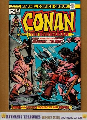 Conan the Barbarian #53 (9.4) NM By Gil Kane 1975 Bronze Age Key Issue