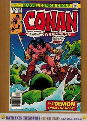 Conan the Barbarian #69 (9.4) NM By Gil Kane 1976 Bronze Age Key Issue
