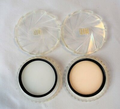 Lot of 2 (Two) 55mm Filters: Super Foto 1A & Hoya Diffuser in Hoya Cases