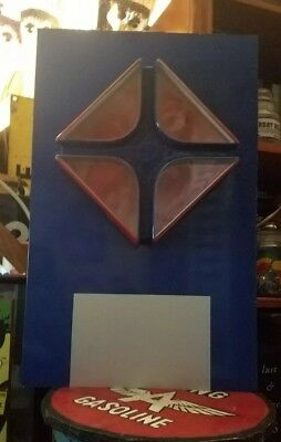 Large Vintage ARCO Gas Service Station Light Display Advertising Sign