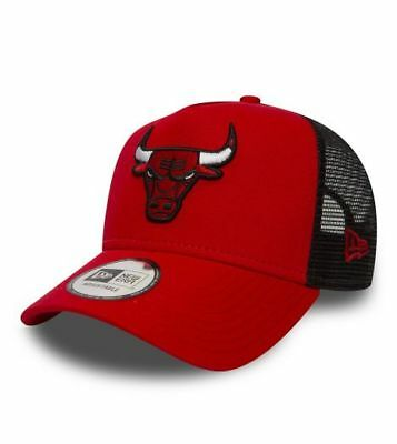 Era Bulls Eur Chicago 29 Cappello 30 New Trucker Rosso Nero nXwOP0k8