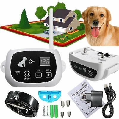 Anti Barking Collar Rechargeable Dog No Bark Shock Pet Training Control NO PAIN