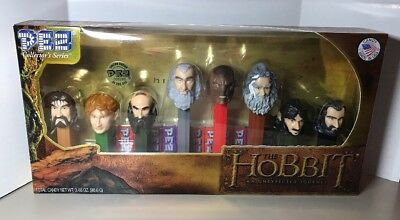 PEZ COLLECTORS SET THE HOBBIT AN UNEXPECTED JOURNEY LIMITED ED #8399 of 200,000!