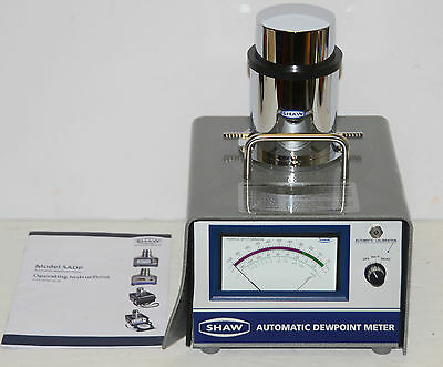 Shaw Bradford Automatic Dewpoint Moisture Meter w/Soft Case Model SADP