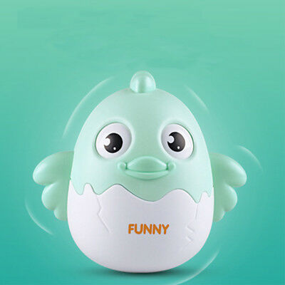 Lovely Animal Design Baby Rattle Blink Tumbler Doll Toy Bell Music Education Toy
