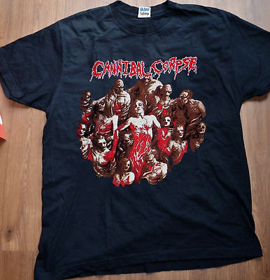 CANNIBAL CORPSE - bleeding 1994 Tour LS Shirt Vintage Metal Sadus rare