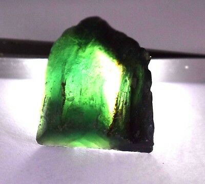 109 Ct Nice Natural Translucent Green Serpentine Earth Mined Slab Rough
