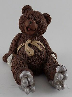 "ALL GODS CHILDREN ""ZIZI BEAR"" MARTHA HOLCOMBE FIGURINE 1995  jd1b"