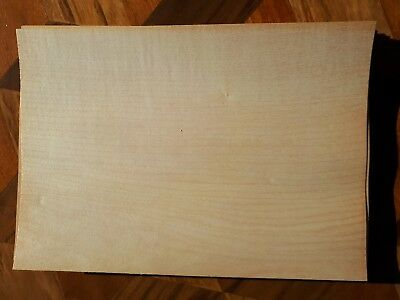22 Sheets of Common Linden Veneer, Woodworking, Marquetry, Rare Timber