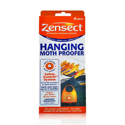 Zensect Hanging Moth Proofer Lavender Freshener Fabric Repellent Various Pack