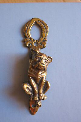 Türklopfer Bulldogge  Messing Antik   Door Knocker Bulldog  Brass  Antique