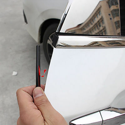 AUTO Universal ACCESSORIES Car Door Edge Rubber Scratch Protector Strip DIY New