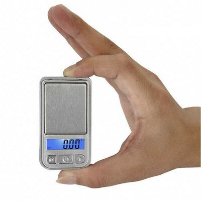 Portable 200g x 0.01g Electronic LCD Digital Ultrathin Jewelry Mini Pocket Scale