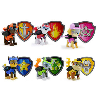 Paw Patrol Jungle Rescue Action Figures Cute PVC Dog Decoration Kids Toys Gift