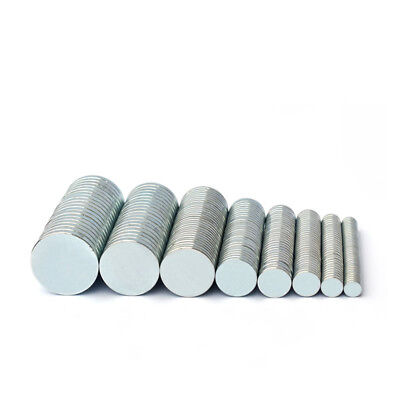 Small Magnets Tiny Neodymium Discs 1mm 2mm 3mm 4mm 5mm Strong Craft Magnet Disk