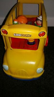 little people fisher price Musical school bus(wheels on the bus)