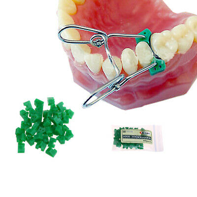 40Pcs/Bag Add-On Autoclavable Silicon Rubber Elastic Wedges Dental Material