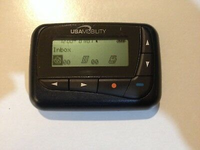 USA Mobility (BR 802 Flex) Pager Beeper, Missing back covr