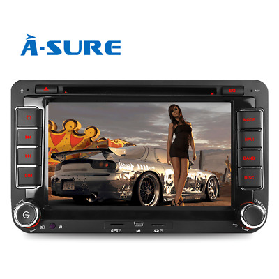"7"" DVD GPS Autoradio für VW TOURAN GOLF 5 6 PASSAT POLO TIGUAN Sharan SEAT OPS"