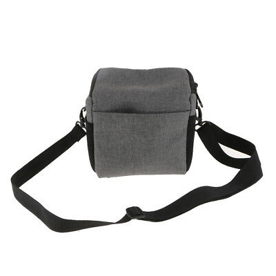 DSLR Camera Shoulder Bag Organizer Carrying Case for Canon Nikon Sony Gray