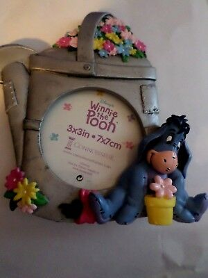 """Winnie the Pooh picture frame round frame 3"""" x 3"""""""
