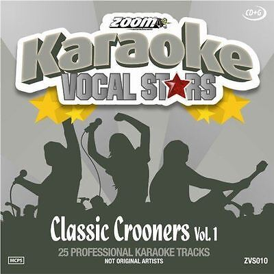 Zoom Karaoke Classic Crooners Volume 1 Vocal Stars Series CD+G New Sealed