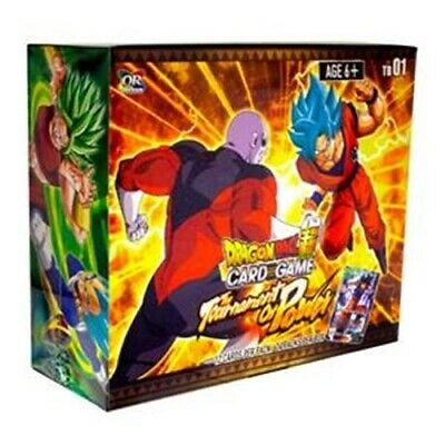 Dragon Ball Super TCG - The Tournament of Power Booster Display - Englisch