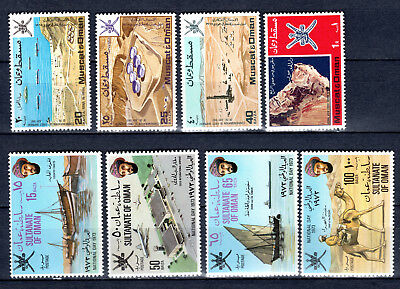 Oman 1969-1972 Sets Selection Of Mnh Stamps Unmounted Mint
