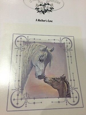 Counted Cross Stitch Pattern - A Mother's Love - Mare & Foal