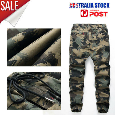Kids Boy's Camo drawstring Pants Camouflage Jogger Combat clothing for Children