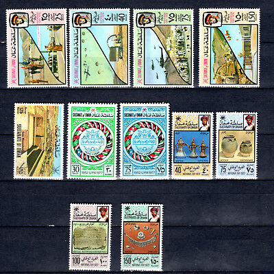 Oman 1976-1977 Sets Selection Of Mnh Stamps Unmounted Mint