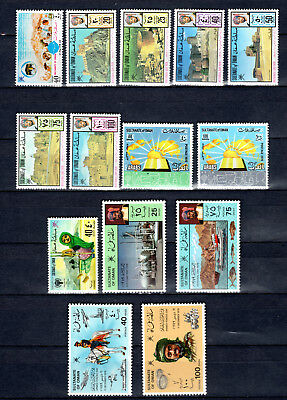 Oman 1978-1979 Sets Selection Of Mnh Stamps Unmounted Mint