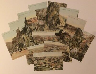 Twelve Grand Canyon Color Litho Postcards Published By John G. Verkamp