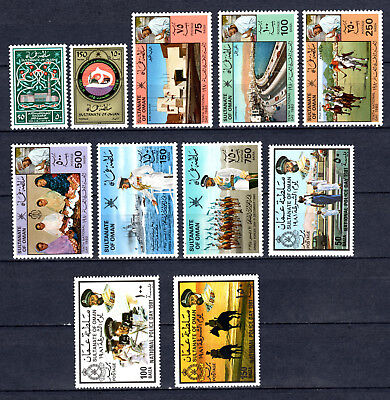 Oman 1980-1981 Sets Selection Of Mnh Stamps Unmounted Mint