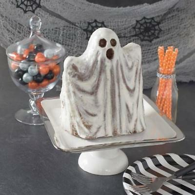 Nordic Ware Haunted Ghost Cake Pan 3D Williams Sonoma Halloween Fall Harvest