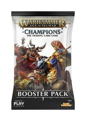 Warhammer Age of Sigmar TCG - Champions Booster Pack - Englisch