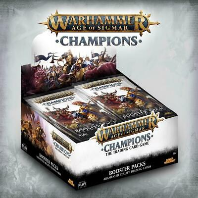 Warhammer Age of Sigmar TCG - Champions Booster Display - Englisch