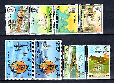 Oman 1981-1982 Sets Selection Of Mnh Stamps Unmounted Mint