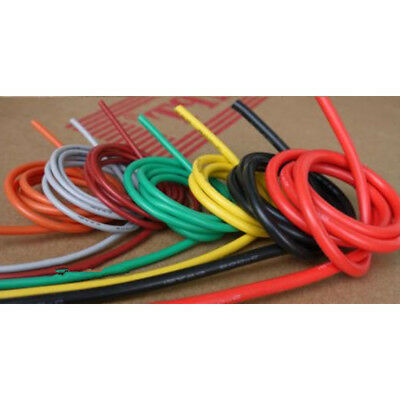 5M Flexible Soft Silicone Wire RC Cable 12/14/16/18/20/22/24/26/28/30 AWG FZ
