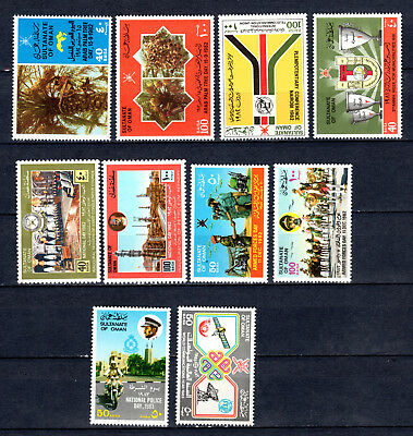 Oman 1982-1983 Sets Selection Of Mnh Stamps Unmounted Mint