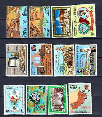 Oman 1983-1984 Sets Selection Of Mnh Stamps Unmounted Mint