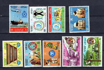 Oman 1985 Sets Selection Of Mnh Stamps Unmounted Mint