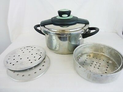Tefal Clipso 4.5 Litre Pressure Cooker, Good Used Condition                 #wo#