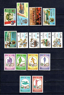 Oman 1986-1988 Sets Selection Of Mnh Stamps Unmounted Mint