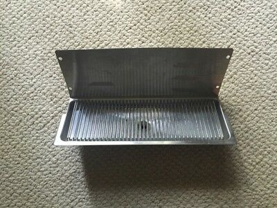 Wall Mount 16x6 Beer Drip Tray For 3 Taps Kegerator Faucet Draft With Drain