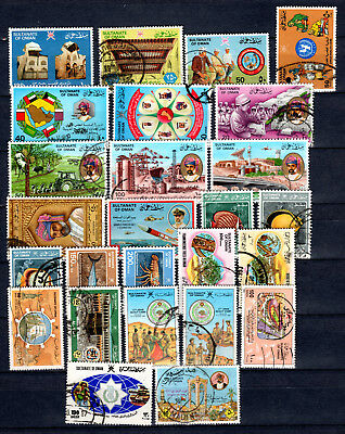 Oman 1985-1986 Sets Selection Of Fine Used Stamps