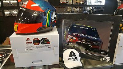 The Ultimate Jeff Gordon Fan Package #4.....Replica Helmet, Cap and 20x16 Pic